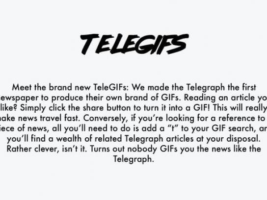 The Telegraph Digital Ad - The TeleGIF