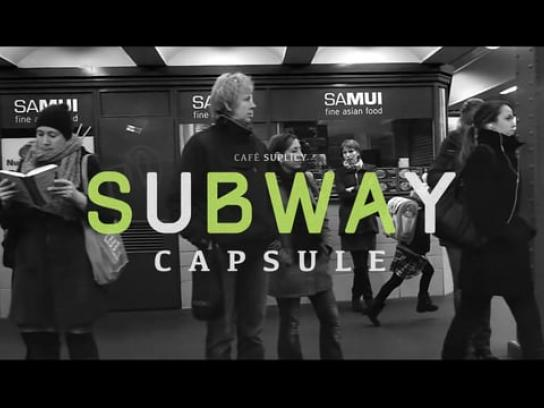 Coffee Suplicy Direct Ad - Subway capsule
