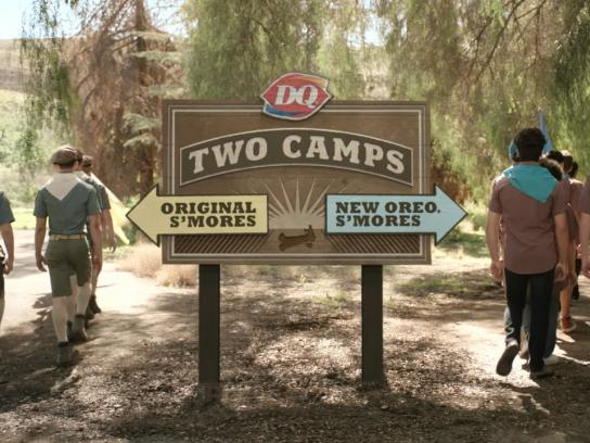 Dairy Queen Film Ad -  Two camps