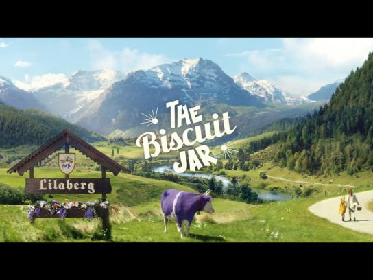 Milka Film Ad -  Biscuit jar