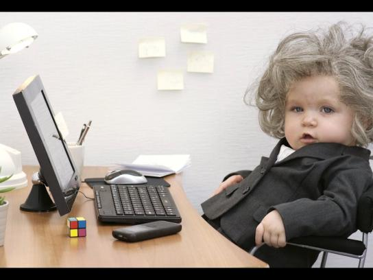 Ikano Bank Film Ad -  Office babies