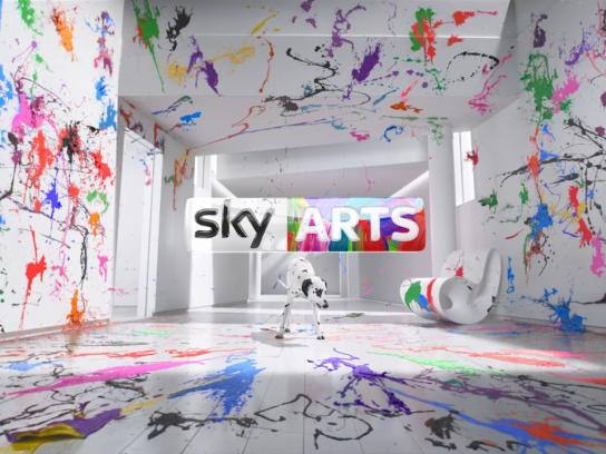 Sky Arts Film Ad - Idents