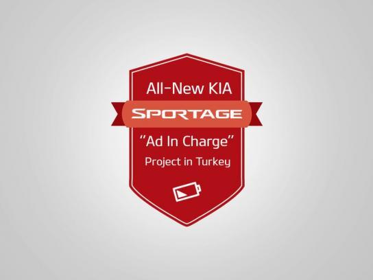 KIA Digital Ad - Ad in charge