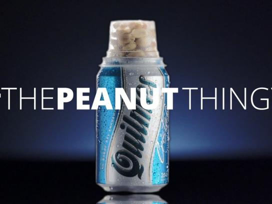 Quilmes Direct Ad - The peanut thingy
