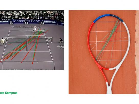 Grupo Guga Kuerten Ambient Ad - The match raquets