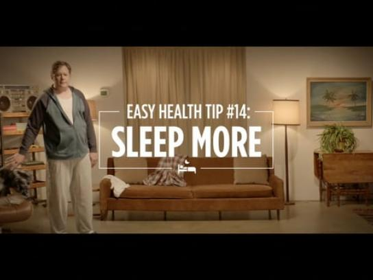 Canadian Men's Health Foundation Film Ad - Power nap