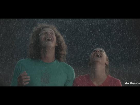 Quechua Film Ad - Rain lovers