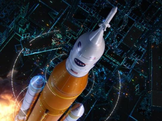 Boeing Film Ad - Space