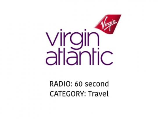 Virgin Atlantic Audio Ad - Cold calling agent