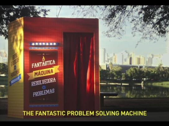 AACD Ambient Ad - The fantastic problem solving machine