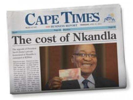 Cape Times Audio Ad -  Zuma