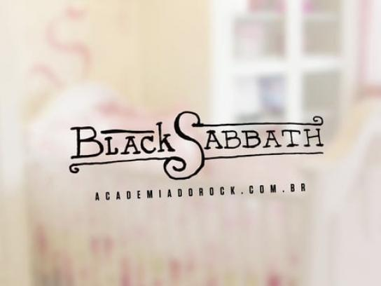 Academia do Rock Audio Ad -  Black Sabbath