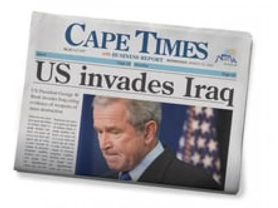 Cape Times Audio Ad -  Bush