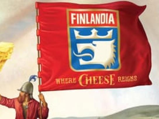 Finlandia Cheese Audio Ad -  Where Cheese Reigns, Cheese Gladiatior