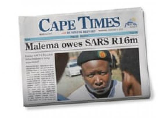Cape Times Audio Ad -  Malema