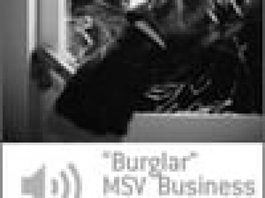 MSV Audio Ad -  Burglar