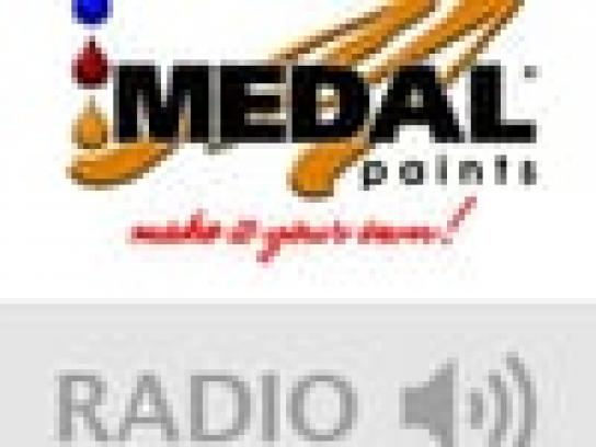 Medal Paints Audio Ad -  Black