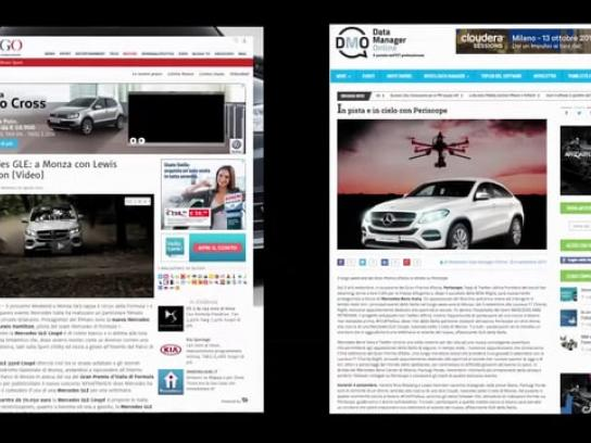 Mercedes Digital Ad - #FindTheSUV