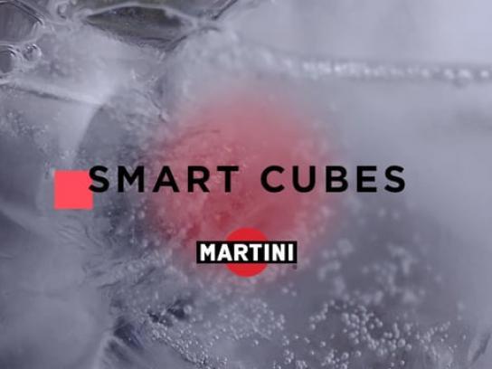 Martini Film Ad - Smart cubes