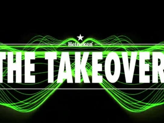 Heineken Ambient Ad - The takeover
