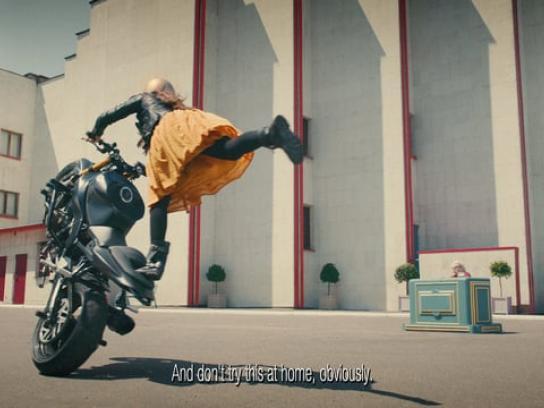 TK Maxx Film Ad - Motorcycle ballet