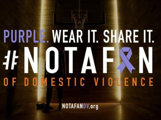 National Coalition Against Domestic Violence Film Ad - #NotAFan