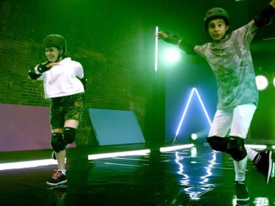 Heelys Film Ad - Challenge - dance