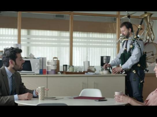 Comcast Film Ad - One Man Band