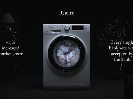 Hotpoint Digital Ad - Million ruble delicate wash