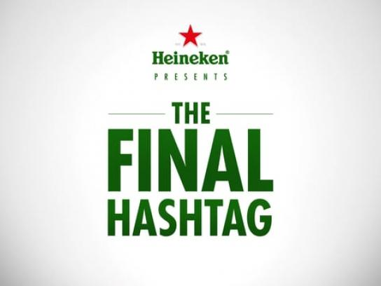 Heineken Digital Ad - The final hashtag