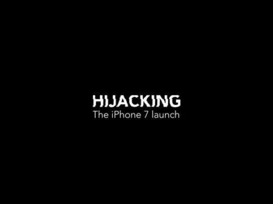 Apple Film Ad - Hijacking the iPhone 7 launch