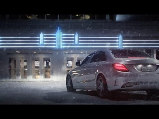 Mercedes Film Ad - Snow date