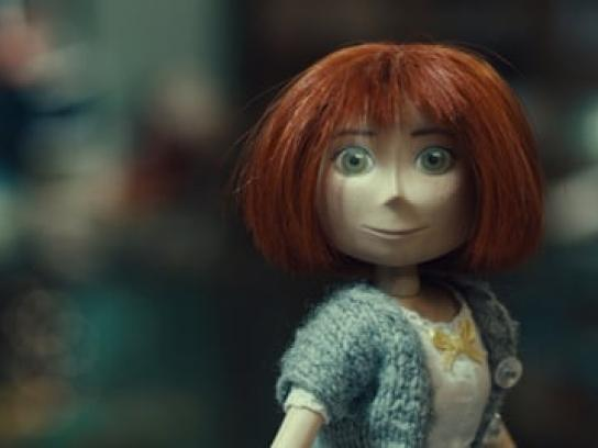 McDonald's Film Ad - Juliette the doll