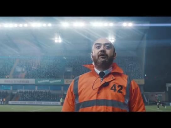 Paddy Power Film Ad - Steward