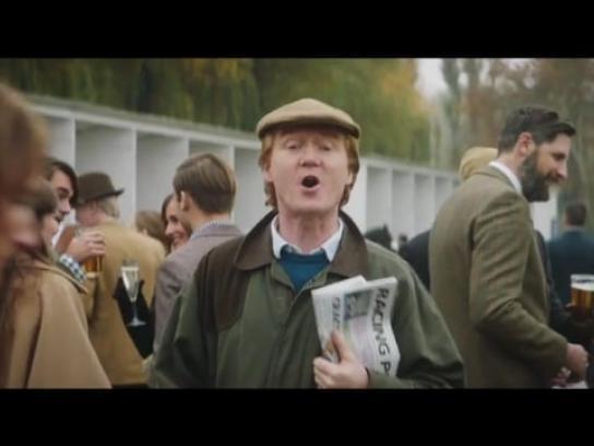 Paddy Power Film Ad - Racegoer