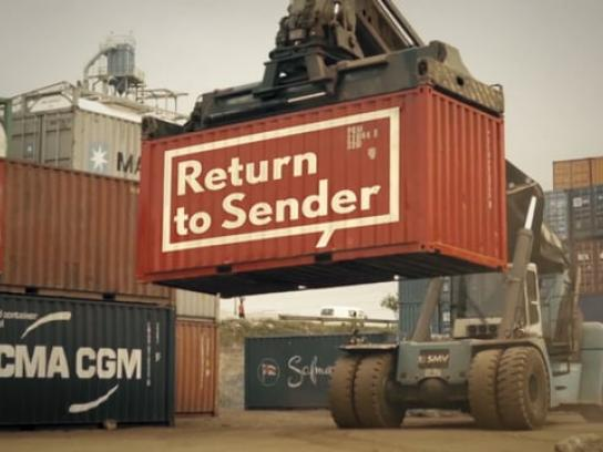Public Eye Integrated Ad - Return to Sender
