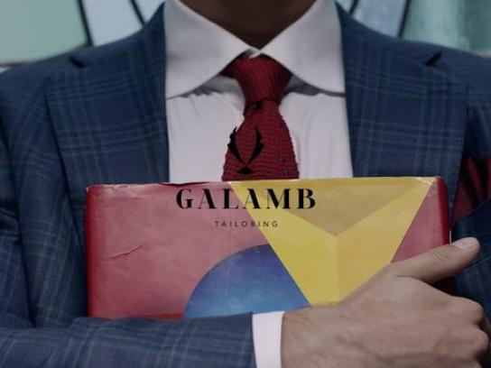 Galamb Tailoring Film Ad - Today is a new day