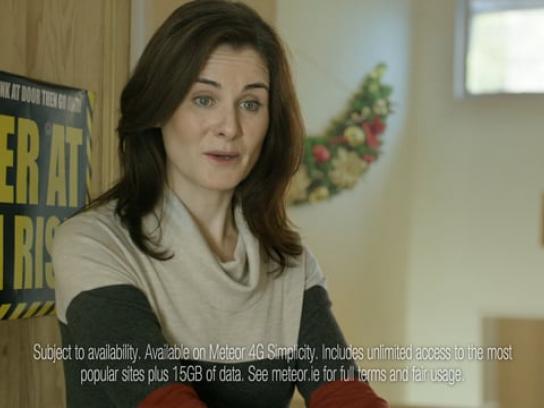 Meteor Film Ad - Merry Hintmas - Winking