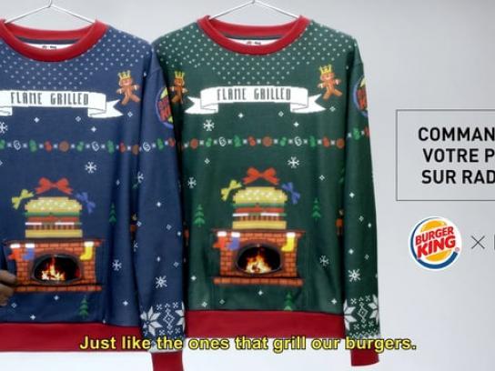 Burger King Direct Ad - Christmas Jumper