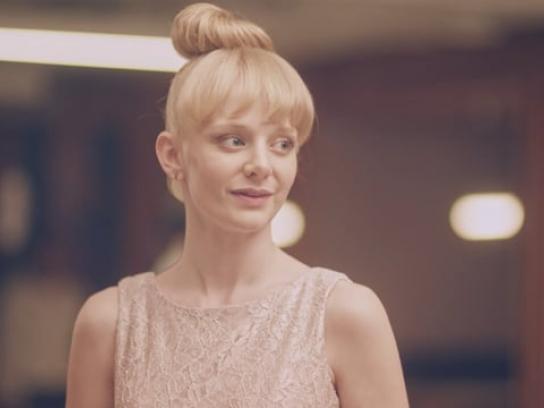 JC Penney Film Ad - Earring