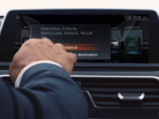 BMW Digital Ad - Connected Trips
