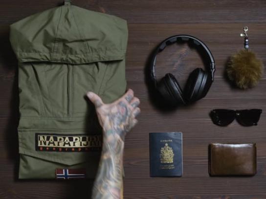 Napapijri Digital Ad - A Journey in the City - Green