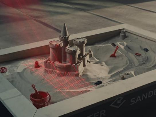 Audi Film Ad - Sandbox