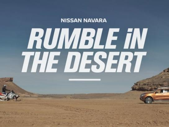 Nissan Film Ad - Rumble in the desert