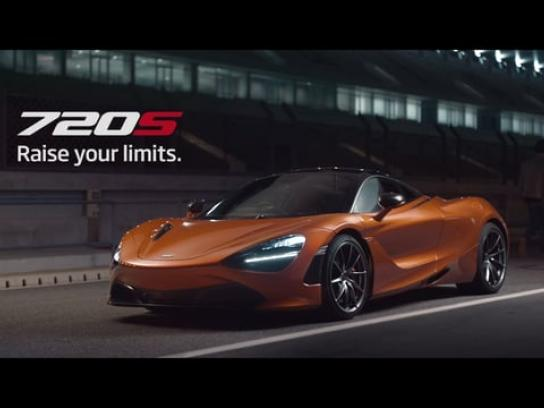 McLaren Film Ad - Raise your limits