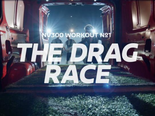 Nissan Digital Ad - Drag race