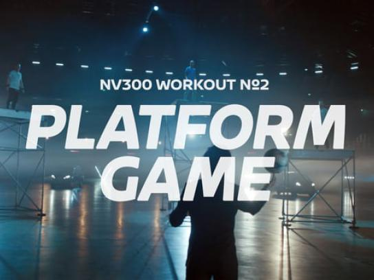 Nissan Digital Ad - Platform game