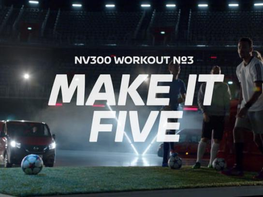 Nissan Digital Ad - Make it five