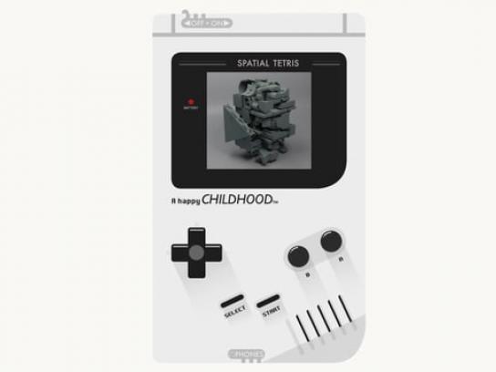 Nintendo Experiential Ad - Spatial Tetris