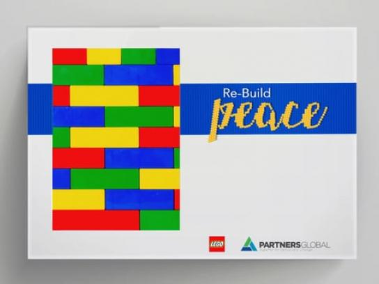 Lego Integrated Ad - Re-Build Peace